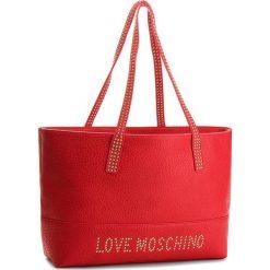 Torebka LOVE MOSCHINO - JC4063PP16LS0500  Rosso. Czerwone torebki klasyczne damskie marki Love Moschino, ze skóry ekologicznej. W wyprzedaży za 649,00 zł.