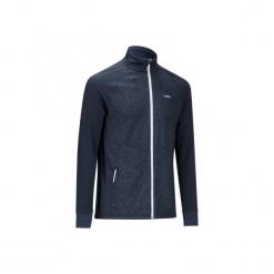 Kurtka narciarska wewnętrzna 500 męska. Niebieskie kurtki narciarskie męskie marki QUECHUA, m, z elastanu. Za 99,99 zł.