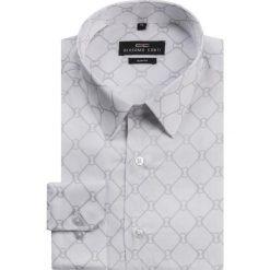 Koszula SIMONE KDBS000122. Szare koszule męskie na spinki Giacomo Conti, na lato, m, z nadrukiem, z bawełny. Za 199,00 zł.