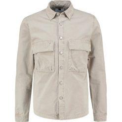 Koszule męskie na spinki: Topman UTILITY Koszula stone