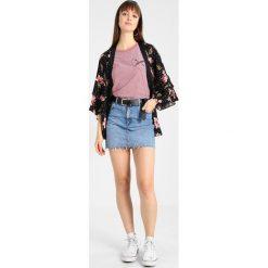 Minispódniczki: Topshop Spódnica jeansowa blue denim