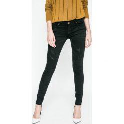 Spodnie z wysokim stanem: Review - Jeansy Minnie