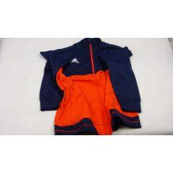 Bejsbolówki męskie: Adidas Bluza dresowa męska Tiro 17 granatowo-pomarańczowa r. XXL (BQ2601) [outlet]