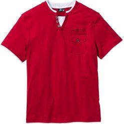 T-shirty męskie: T-shirt Regular Fit bonprix ciemnoczerwony