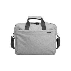 NATEC MUSTELA 15,6'' NTO-0766. Szare torby na laptopa Natec, w paski, z materiału. Za 60,93 zł.