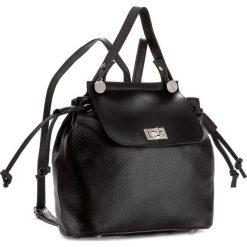 Plecak CREOLE - K10400  Czarny. Czarne plecaki damskie Creole, ze skóry, eleganckie. W wyprzedaży za 239,00 zł.