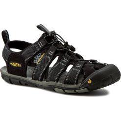 Sandały KEEN - Clearwater Cnx 1008660 Black/Gargoyle. Czarne sandały męskie marki Keen, z materiału. W wyprzedaży za 279,00 zł.