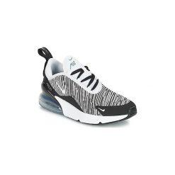 Buty Dziecko Nike  AIR MAX 270 PRE-SCHOOL. Czarne trampki chłopięce Nike. Za 359,10 zł.