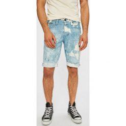 Tommy Jeans - Szorty. Szare spodenki jeansowe męskie marki Tommy Jeans, casualowe. W wyprzedaży za 199,90 zł.