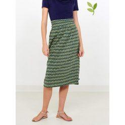 """Spódniczki: Spódnica """"Viola"""" w kolorze oliwkowym"""