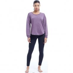 """Sweter """"Leanne"""" w kolorze ciemnofioletowym. Fioletowe swetry klasyczne damskie BALANCE COLLECTION, s, z bawełny, z okrągłym kołnierzem. W wyprzedaży za 65,95 zł."""