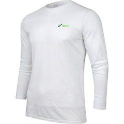 Asics Koszulka Long Sleeve Tee biała r. XL (123064.0001). Szare t-shirty męskie marki Asics, z poliesteru. Za 52,27 zł.