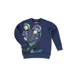 Bluzy niemowlęce: STACCATO Boys Mini Bluza denim blue melange