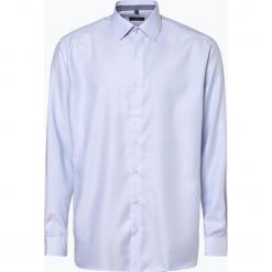 Eterna Modern Fit - Koszula męska – niewymagająca prasowania, niebieski. Niebieskie koszule męskie non-iron Eterna Modern Fit, m, z bawełny, z klasycznym kołnierzykiem. Za 249,95 zł.