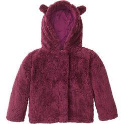 """Bluzy dziewczęce rozpinane: Bluza rozpinana z polaru """"baranek"""" bonprix jeżynowy"""