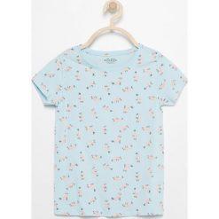 T-shirt z nadrukiem - Niebieski. Niebieskie t-shirty chłopięce z nadrukiem marki Reserved, l. W wyprzedaży za 24,99 zł.