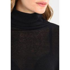 Bluzki asymetryczne: Majestic Bluzka z długim rękawem noir