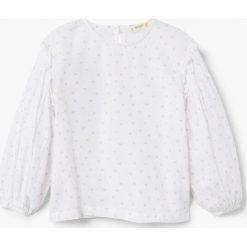 Bluzki dziewczęce bawełniane: Mango Kids - Bluzka dziecięca Stitch 110-152 cm