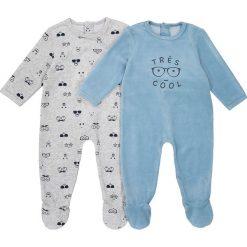 Odzież chłopięca: Piżama jednoczęściowa, wzorzysta, 2 szt., Oeko Tex