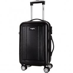 Walizka w kolorze czarnym - 50 l. Czarne walizki Bagstone & Travel One, z materiału. W wyprzedaży za 219,95 zł.