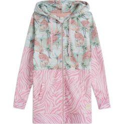 Bluzy rozpinane damskie: Bluza Bali Flamingo