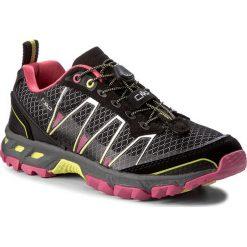 Trekkingi CMP - Atlas Wmn Trail Shoes 3Q95266  Nero/Rasperry/Acido 56AE. Czarne buty trekkingowe damskie CMP. W wyprzedaży za 229,00 zł.