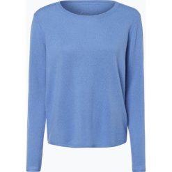 Swetry klasyczne damskie: iheart - Sweter damski z czystego kaszmiru – Sophie, niebieski