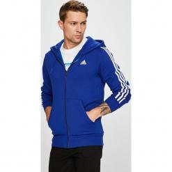 Adidas Performance - Bluza. Szare bejsbolówki męskie adidas Performance, m, z bawełny, z kapturem. W wyprzedaży za 219,90 zł.