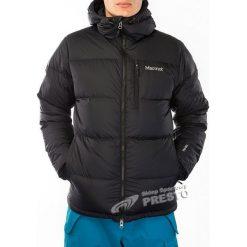 Kurtki sportowe męskie: Marmot Kurtka zimowa puchowa męska Guides Down Hoody Marmot Black M - 785562410275