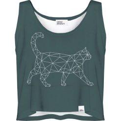 Colour Pleasure Koszulka damska CP-035 237 zielona r. XXXL-XXXXL. Zielone bluzki damskie Colour pleasure. Za 64,14 zł.