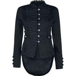 Bomberki damskie: H&R London Emo Military Tail Jacket Kurtka czarny