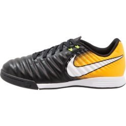 Nike Performance TIEMPOX LIGERA IV IC Halówki black/white/laser orange/volt. Czarne buty skate męskie Nike Performance, z gumy. W wyprzedaży za 207,20 zł.