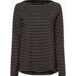 Bluzki, topy, tuniki: Marc O'Polo – Damska koszulka z długim rękawem, czarny