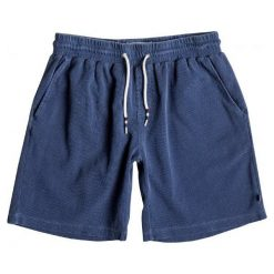Quiksilver Spodenki Arcadia Zee Short M Estate Blue Xl. Niebieskie spodenki sportowe męskie marki Quiksilver, z bawełny, sportowe. W wyprzedaży za 99,00 zł.