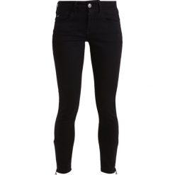 GStar LYNN MID ANKLE ZIP SKINNY Jeans Skinny Fit black. Czarne jeansy damskie G-Star, z bawełny. W wyprzedaży za 351,75 zł.