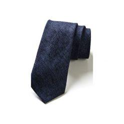 Krawaty męskie: Krawat męski OTERO len
