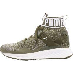 Buty sportowe damskie: Puma IGNITE EVOKNIT Obuwie do biegania treningowe olive night/quarry/white