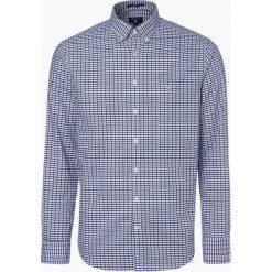 Gant - Koszula męska, niebieski. Niebieskie koszule męskie na spinki GANT, m, z klasycznym kołnierzykiem. Za 449,95 zł.