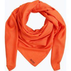 BOSS Casual - Chusta damska – Nalu, pomarańczowy. Brązowe chusty damskie BOSS Casual, z materiału. Za 219,95 zł.