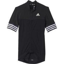Adidas Koszulka rowerowa Adistar SS Jersey M czarnar. S (S05513). Odzież rowerowa męska Adidas, m. Za 239,00 zł.