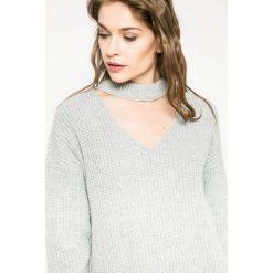 Medicine - Sweter Hogwarts. Szare swetry klasyczne damskie marki MEDICINE, l, z dzianiny. W wyprzedaży za 79,90 zł.