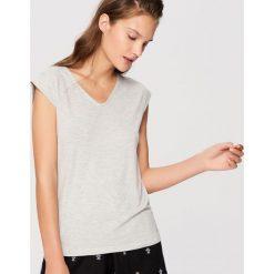 Piżamy damskie: Dwuczęściowa piżama – Czarny