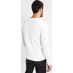 Swetry męskie: Jack & Jones JPRNEIL KNIT CREW NECK Sweter blanc de blanc