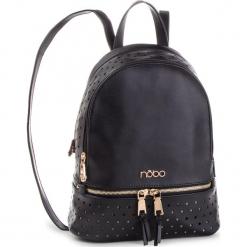 Plecak NOBO - NBAG-F2450-C020 Czarny. Czarne plecaki damskie Nobo, ze skóry ekologicznej, eleganckie. W wyprzedaży za 169,00 zł.