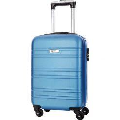 Walizki: Walizka w kolorze niebieskim – 34 l