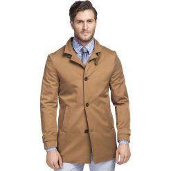 Płaszcz FLORIANO PSKS000063. Brązowe płaszcze na zamek męskie marki Cropp, na zimę, l, sportowe. Za 699,00 zł.