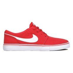 Nike Tenisówki Męskie Sb Solarsoft Portmore Ii Canvas Czerwony/Biały/Czarny 8 (42.5). Czarne tenisówki męskie marki Reserved. W wyprzedaży za 185,00 zł.