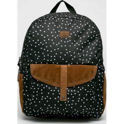 Roxy - Plecak Carribean. Czarne plecaki damskie marki Roxy, z materiału. Za 169,90 zł.