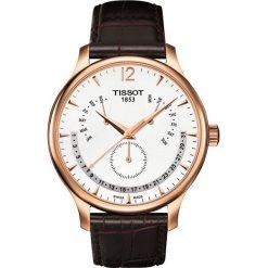 RABAT ZEGAREK TISSOT TRADITION PERPETUAL CALENDAR T063.637.36.037.00. Białe zegarki męskie marki TISSOT, ze stali. W wyprzedaży za 1619,21 zł.