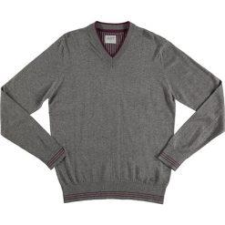 Swetry klasyczne męskie: Sweter w kolorze szarym